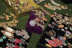Boutique degli accessori di modo delle donne Fotografia Stock