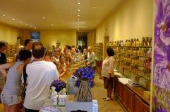 Boutique del perfume Fotografía de archivo