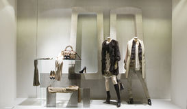 Boutique display window Stock Photography