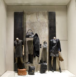 Boutique display window Royalty Free Stock Photos