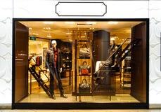 Boutique display window Stock Image