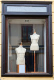 Boutique display window mannequins Royalty Free Stock Photo