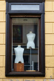 Boutique display window mannequins Royalty Free Stock Photos