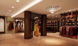 Boutique do indiano de Ethinic fotos de stock