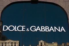 Dolce and gabbana stock images