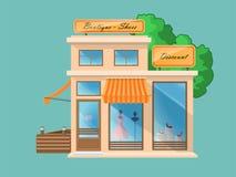 Boutique e sapataria Imagem de Stock