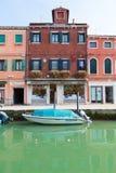 Boutique en verre dans Murano Photographie stock libre de droits