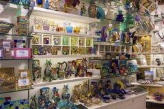 Boutique en verre de Murano photographie stock