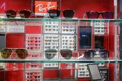 boutique en verre de Ray-interdiction Photo libre de droits