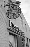 Boutique exprès de pizza Photographie stock libre de droits