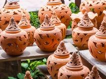 Boutique faite main de poterie Photo stock