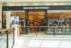 Boutique famoso de Brooks Brothers fotografía de archivo libre de regalías