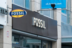 Boutique Fossil Royalty Free Stock Photography