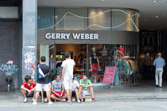 Boutique Gerry Weber on Friedrichstrasse Stock Image