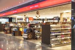 Boutique hors taxe à l'aéroport Photographie stock