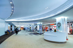 Boutique hors taxe à l'aéroport de Narita au Japon Images libres de droits