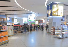 Boutique hors taxe d'aéroport de Melbourne Photo stock