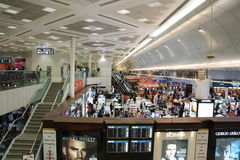 Boutique hors taxe dans Doha Photographie stock