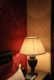 Boutique Hotel. Bedroom with Classy Room Design Stock Photo