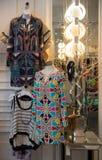 Boutique. Inside upscale women's clothing boutique Stock Photo
