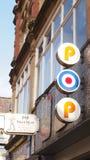 Boutique Manchester de bruit Photographie stock