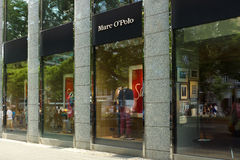 Boutique Marc O'Polo op Kurfuerstendamm Stock Afbeelding