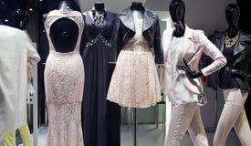 Boutique in Milan royalty free stock photos