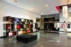 Boutique na moda Foto de Stock Royalty Free