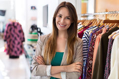 Boutique owner Royalty Free Stock Photo