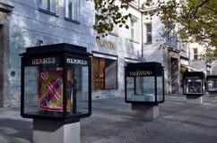 Boutique på Kurfurstendamm Arkivbilder