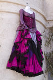 Boutique para mujer de la ropa de la alineada del renacimiento Imagen de archivo libre de regalías