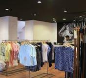 Boutique Pepe Jeans da forma imagem de stock royalty free