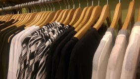 Boutique Rack Stock Image