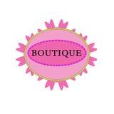 Boutique retro del logotipo Imagen de archivo libre de regalías