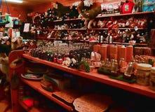 Boutique rustique de région sauvage Photographie stock libre de droits