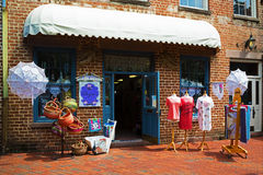 Boutique in Savannah, Georgia Royalty Free Stock Images