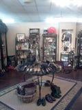 Boutique. Shop clothes shoes retail Stock Photo