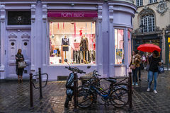 Boutique shop at dusk Royalty Free Stock Photo