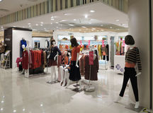 Boutique In Shopping Mall Stock Images