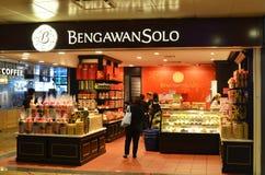 Boutique soloe de Bengawan située dans l'aéroport de Changi, Singapour Photos libres de droits