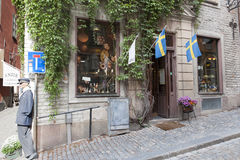 Boutique Stockholm d'Antik Images libres de droits