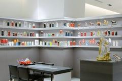 Boutique thermoisolante avancée de tasse dans le bâtiment de Taïpeh 101 Photographie stock
