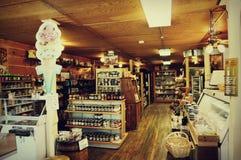 Boutique traditionnelle de Cooksville Photo stock