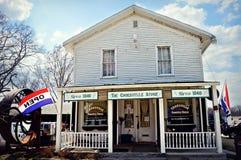 Boutique traditionnelle de Cooksville Photos libres de droits