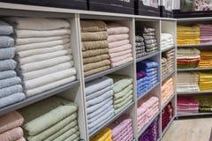 Boutique turque de coton Photos libres de droits