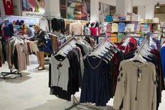 Boutique turque de coton Image stock