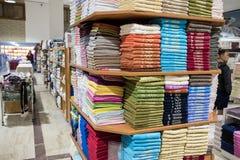 Boutique turque de coton Images libres de droits