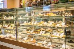 Boutique turque de sucrerie Photographie stock libre de droits
