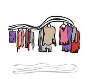 Boutique. Vector illustration Stock Photography