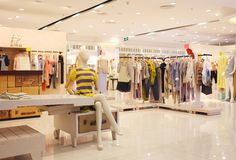 Boutique. View of a boutique interior Royalty Free Stock Photography
